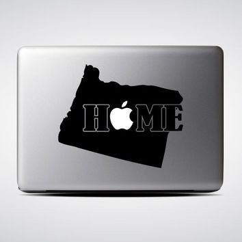 Oregon State Home / Macbook Sticker / Laptop Decal