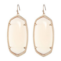 Kendra Scott Danielle Earrings Rose Gold/Peach Cat's Eye - Zappos.com Free Shipping BOTH Ways
