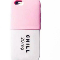 Chill Pill Medicine iPhone case