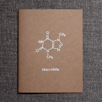 Chocolate Chemistry Nerd Card