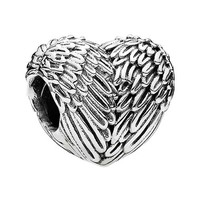 Women's PANDORA 'Angelic Feathers' Charm - Silver
