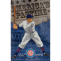 Chicago Cubs MLB Vintage Wall Art