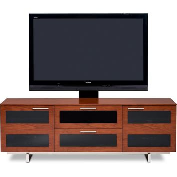 Avion II 65 Inch TV Stand & Home Theater Cabinet Cherry