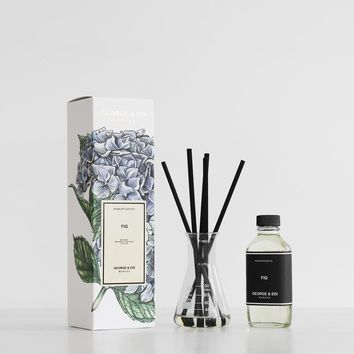 George & Edi | Reed Diffuser Set | Fig