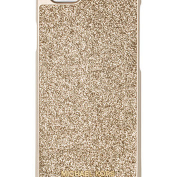 MICHAEL Michael Kors Glitter Snap-On iPhone 6 Cover | macys.com