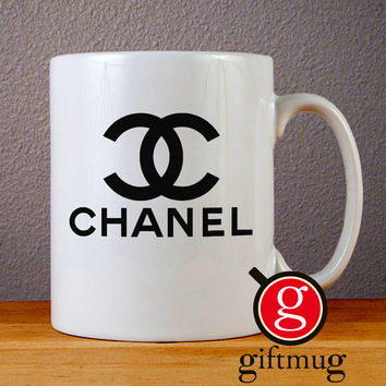 CoCo Chanel Ceramic Coffee Mugs