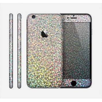 The Colorful Confetti Glitter Skin for the Apple iPhone 6
