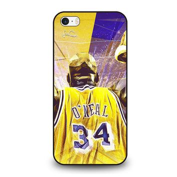 SHAQUILLE O'NEAL LA LAKERS iPhone SE Case Cover