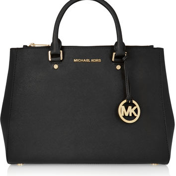 MICHAEL Michael Kors - Sutton large textured-leather tote
