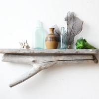 Natural Driftwood Shelf - Perfect Mantle // Size LARGE