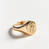 Wolf Circus Femme Signet Ring | Urban Outfitters Canada
