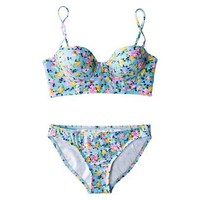 Xhilaration® Junior's Floral 2-Piece Swimsuit