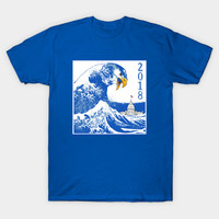 Vote Blue Tsunami with Eagle by scarebaby