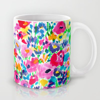 Flower Fields Pink Mug by Amy Sia | Society6
