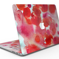 Love Red Absorbed Watercolor Texture - MacBook Air Skin Kit