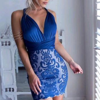 Karina Lace Versatile Dress