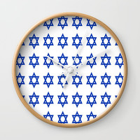 Star of David Wall Clock by oldking