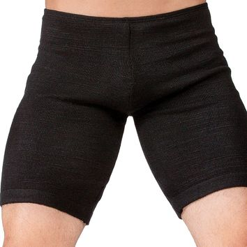 Shorts:  Men's Dance & Yoga Low Rise Shorts Stretch Knit Yoga KD dance NYC Dancewear Made In USA