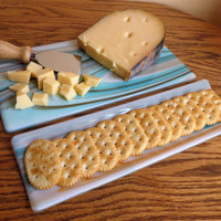 Cheese Board and Cracker Dish Set, SouthWest Colors, Statteam