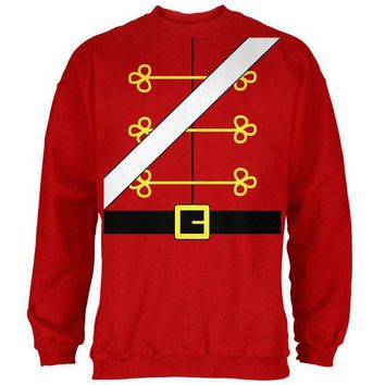 DCCKU3R Christmas Toy Soldier Nutcracker Costume Mens Sweatshirt