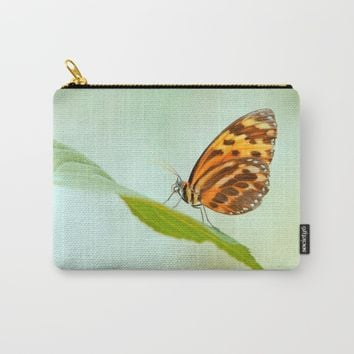 Butterfly Love Carry-All Pouch by Tanja Riedel