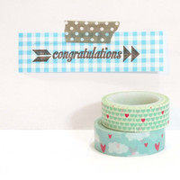 Congratulation rubber stamp