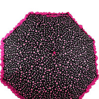 BETSEY RUFFLE EDGE AUTO OPEN UMBRELLA