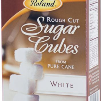 Roland Rough Cut White Sugar Cubes - 17.5 oz