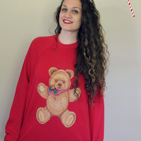 Teddy Bear Ugly Christmas Party Sweater