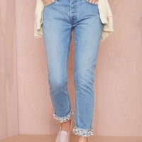 Nasty Gal Denim – The Pearl Boss Boyfriend