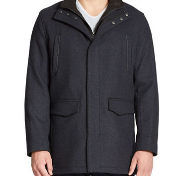 Andrew Marc Hearst Wool-Blend Jacket