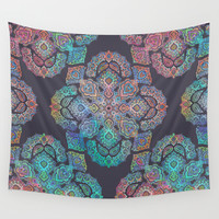 Boho Intense Wall Tapestry by Micklyn