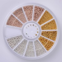 Decoration  Steel                Mixed  Wheel  Manicure  Decor