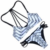 Hot Sexy Bikini Swimming Suit For Women Push Up Bikini Set Beach Praia Bathing Suits Swimwear Biquinis Feminino 2017 Brasileiro -0307