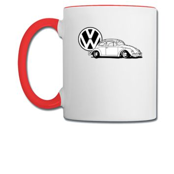 vw beatle - Coffee/Tea Mug