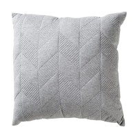 Quilted Geo Cushion - Grey | Kmart