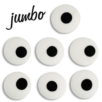 Jumbo White Royal Icing Eyes