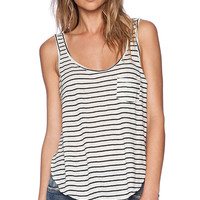 AMUSE SOCIETY Harlow Knit Tank in Cream