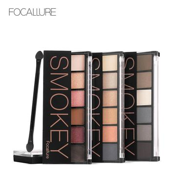 FOCALLURE Smoky Eyeshadow Palette 6 Color
