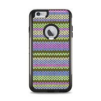 The Colorful Knit Pattern Apple iPhone 6 Plus Otterbox Commuter Case Skin Set