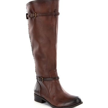Gianni Bini Jonies Wide-Calf Riding Boots | Dillards