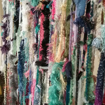 Boho, ragtime, colorful hippie made to order Curtains.