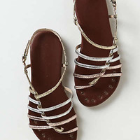 Anthropologie - Latitudes Strappy Sandals
