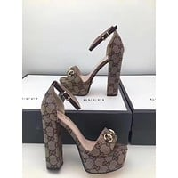 Gucci Fashion Princess High Heels-1