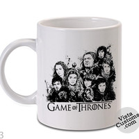 The Stark Family game of thrones Mug, Coffee mug coffee, Mug tea, Design for mug