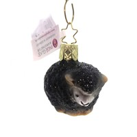 Inge Glas BABY BAA ORNAMENT Glass Black Sheep 105715