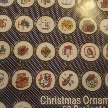 Kappie Christmas ABC's And More Book 409 Counted Cross Stitch Patterns 1990