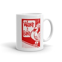 Wake N Bake By Twisted420Glass Coffee Mug from T420G Apparel & Accessories
