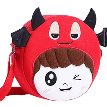 Plush Fabric Cute Children Shoulder Bag Backpack Gift  Princess Messenger Bag