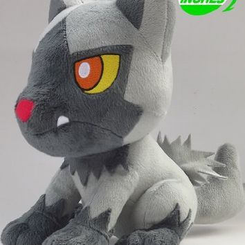 Anime Pokemon Poochyena Plush Doll 12 Inches